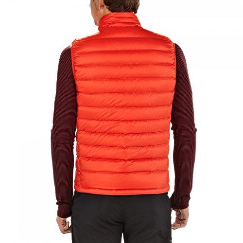 Patagonia Down Gilet Homme Orange - Rouge
