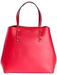FURLA - Bolso de asas de Piel para mujer rojo Ruby