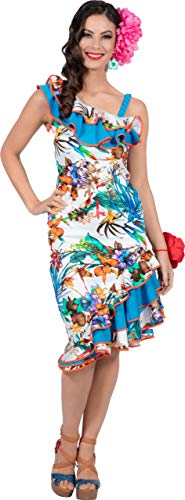 Tanz Kostüm Karibik - Wilbers & Wilbers Hawaii Kostüm Hawaiianerin Karibik Hula Strand Aloha Party