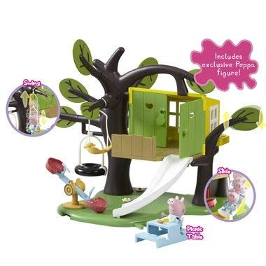 Character Options Prannoi Peppa Pig Tree House Playset Toy Figure Playsets at amazon
