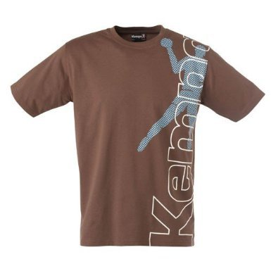 Kempa 200220801 T-Shirt Promo Tee Player, braun,(brown  XXS