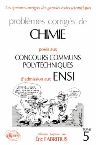 Chimie Concours communs polytechniques (...