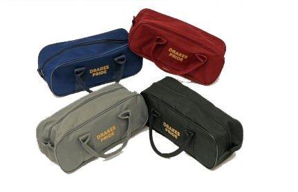 DrakesPride BowlandJack-Tasche, für 2Bowls und 1Jack Blau navy