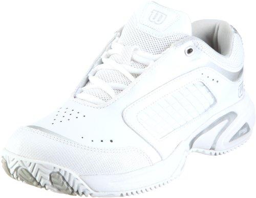 Wilson Pro Staff Victress WRS984400035 Damen Sportschuhe - Tennis Weiss/White/Silver