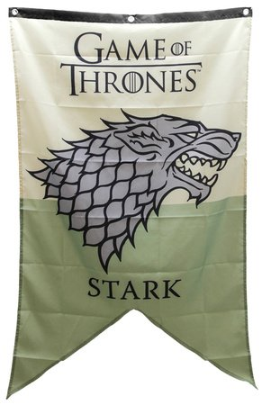 Game Of Thrones Stark Family Banner