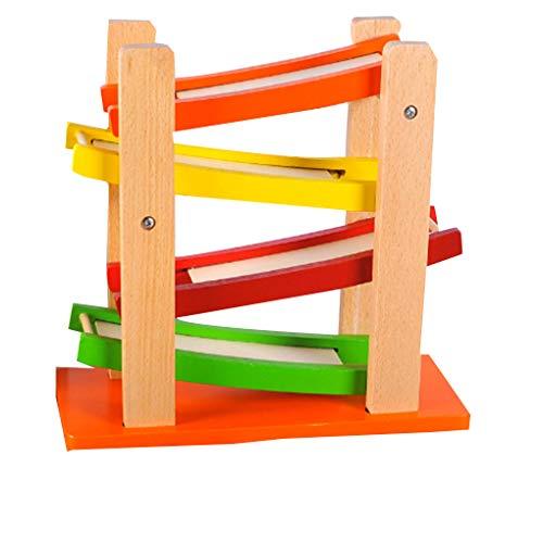 zleiter Gliding Auto Glider Inertial Orbit Pulley Spielzeug Lern   Schieben Spielzeug für Kinder Boy Geschenke ()