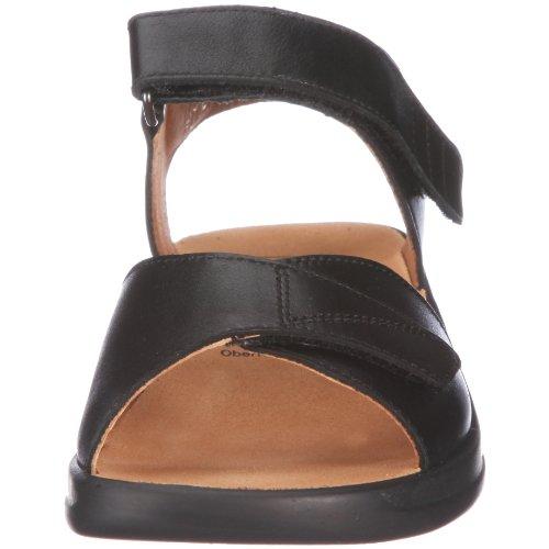 Ganter Monica, Weite G, Sandales Femme Noir - V.6