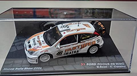 FORD FOCUS RS WRC - MONZA RALLY SHOW 2006 - VALENTINO ROSSI - IXO 1/43
