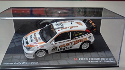 Générique Ford Focus RS WRC - Monza Rally Show 2006 - Valentino Rossi - IXO 1/43
