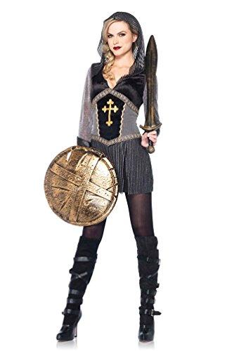 Sexy Für Kostüm Erwachsene Ritter - Karneval-Klamotten Ritter-Kostüm Damen Ritter sexy Luxus Mittelalter-Kostüm Damenkostüm Erwachsene Karneval Größe 42/44