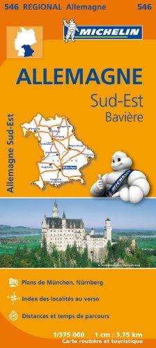 Carte Allemagne Sud-Est, Bavière Michelin par Collectif MICHELIN