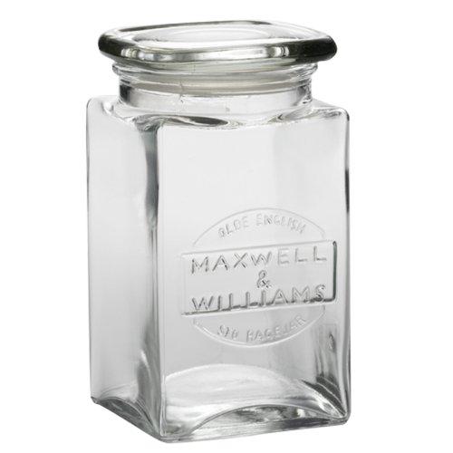 Maxwell & Williams ZY20513 Olde English Vorratsdose, Vorratsglas, Vorratsbehälter, 1 l, Glas
