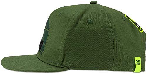 Valentino Rossi RAMCA318608 Hut mit Visier, Militärgrün, Einheitsgröße
