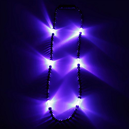 Ucult Bunte Party LED-Halskette (Blau)