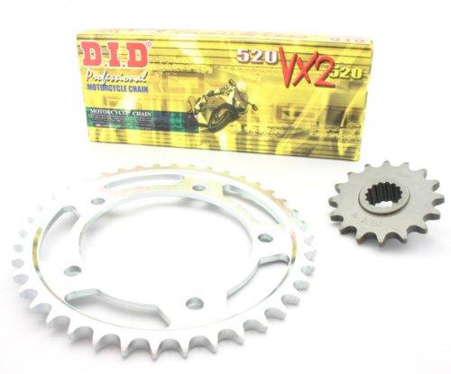 D.I.D X-Ring (VX2) Kettensatz für Yamaha XT 660 R / XT 660 X, Bj. 2004-2010