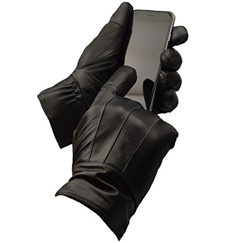 - 412zdLbQOhL - Mens Designer Genuine Leather Thermal Winter Driving Gloves  - 412zdLbQOhL - Deal Bags
