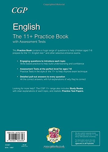 The 11+ English Practice Book with Assessment Tests (Ages 7-8)