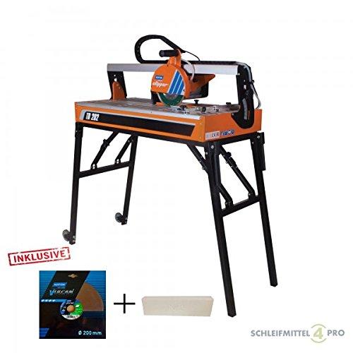Preisvergleich Produktbild Set NORTON Clipper Fliesenschneider TR 202 + zweite Trennscheibe + Schärfstein
