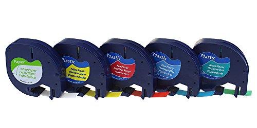colorty-5-pack-91200-91202-91203-91204-91205-autocollant-papier-et-plastique-ruban-compatible-avec-d