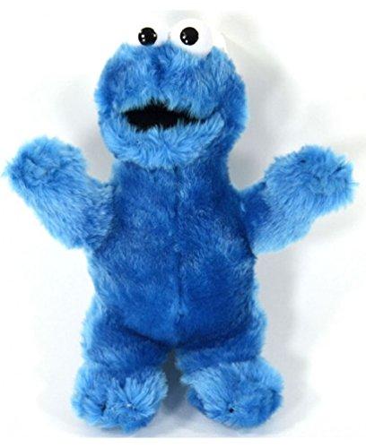 for-collectors-only Sesamstrasse Plüschfigur Krümelmonster Cookie Monster Puppe ca. 30cm Sesamstraße Kinder Puppe Plush Puppet