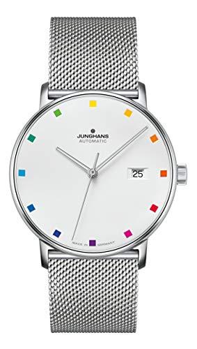 Junghans Automatik-Uhr Form A 100 Jahre Bauhaus 027/4937.44