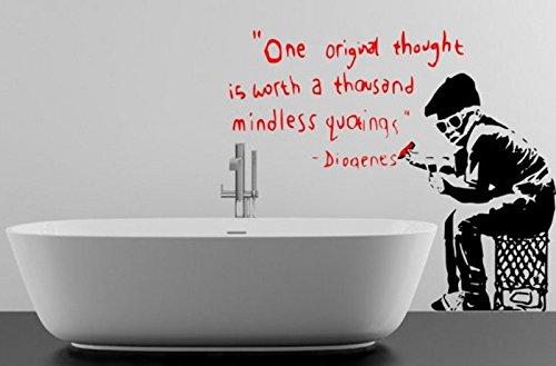banksy-stile-un-originale-che-vale-la-pena-un-migliaio-di-mindless-quotings-adesivo-da-parete-black-