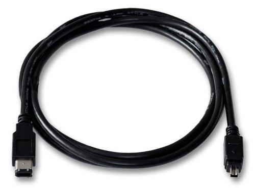 DV Kabel für JVC GR-D725E Digitalcamcorder   Firewire 4/6-polig i.link   Länge 1,8m Dv-kabel