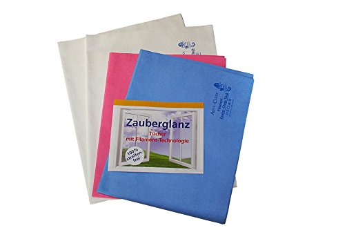 AQUA CLEAN Filament Zauberglanztücher 4er Set