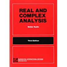 Real and Complex Analysis: Mathematics Series (Tmhe Ie Overruns)