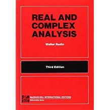REAL & COMPLEX ANALYSIS 3E (5P) (Int'l Ed) (McGraw-Hill International Editions: Mathematics Series)