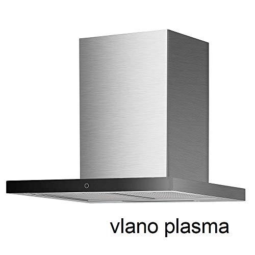 Vlano THEA Sensor/EEK A++/ Block Abzughaube ECO LED Extra leiser Brushless Motor (60 cm Umluft Plasma)