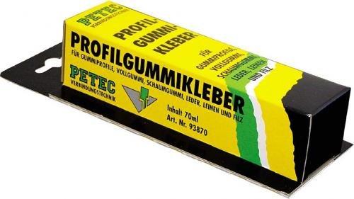 Petec 93870 Profilgummikleber, 70 ml -