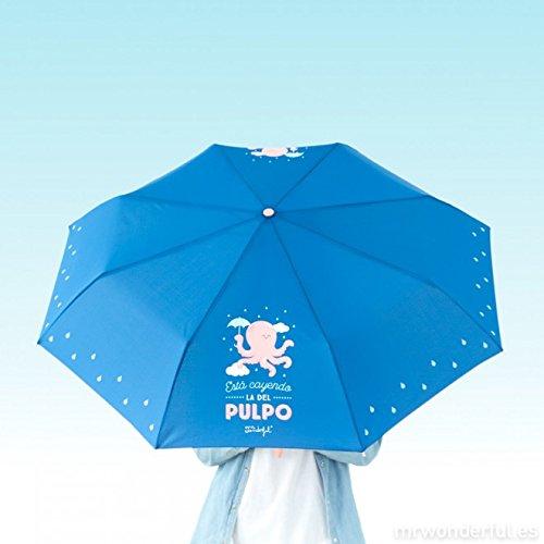 Mr Wonderful Paraguas plegable Pulpo