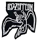 LED ZEPPELIN Embroidered Iron On Patch/Embroidery Sewing Patch by GadgetsGlobal (Free Gift Heart Patch)