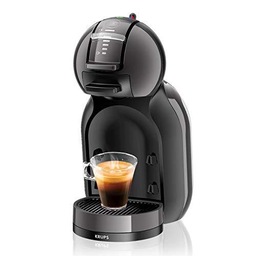 Krups KP 1208 Nescafé Dolce Gusto Mini Me Kaffeekapselmaschine (1500 Watt automatisch) anthrazit...