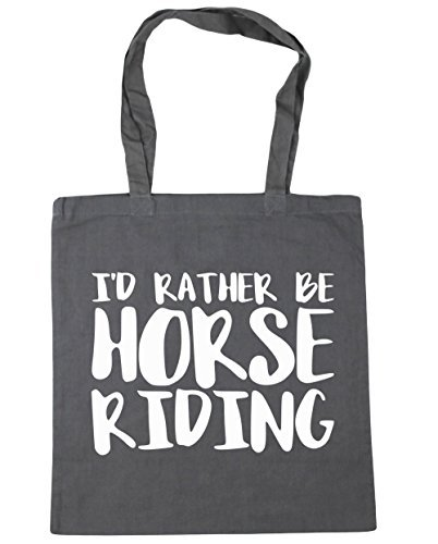 412zl tzC7L BEST BUY UK #1HippoWarehouse Id Rather Be Horse Riding Tote Shopping Gym Beach Bag 42cm x38cm, 10 litres price Reviews uk