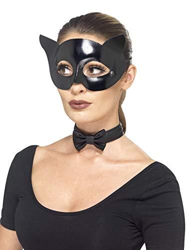 er Cat Instant-Kit mit Wet Look Maske und Kragen ()