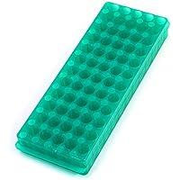 Verde de polipropileno doble Centrífuga Sided soporte del tubo 60 posiciones