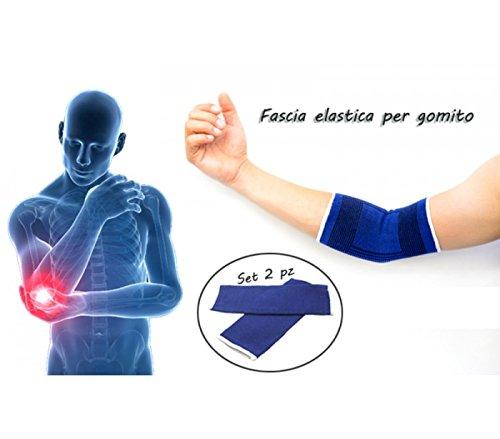 mws - 2 bandas elásticas para codo, codera para aliviar la inflamación, ideal para el deporte
