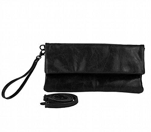 OBC Only-Beautiful-Couture, Borsa a spalla donna Rosso rosso 30x16x4 cm (BxHxT) nero
