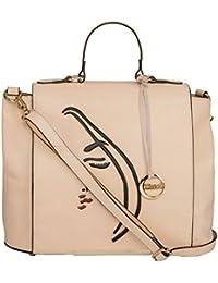 Klasse Genuine Leather Women's Cross Body Sling Bag With Handle And Tassel
