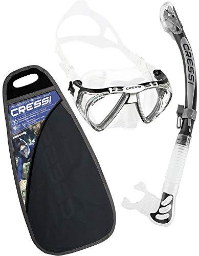 7a65e5a313 Cressi Premium Dry Snorkel Combo Set - Penta   Alpha Ultra Dry
