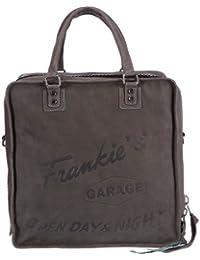 Frankie's Garage Record Bag - Bolso de mano de material sintético unisex