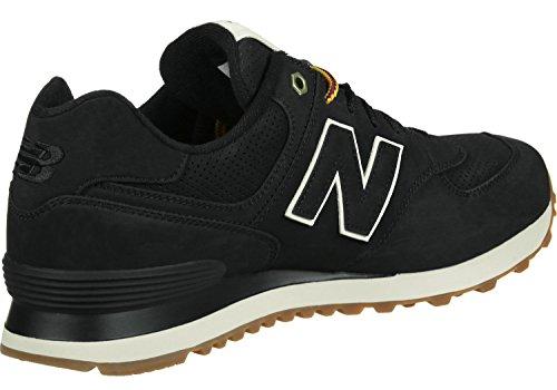 New Balance 574, Baskets Basses Homme Noir
