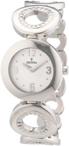 Festina Women's Quartz Watch Trend Lady F16546/1 with Metal Strap