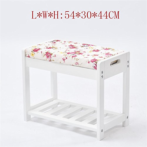 Schuh-speicher-bank (Kreative Tuch Freizeit Massivholz Hocker Europäische Art-Massivholz-Änderungs-Schuh-Schemel Schuhkarton-moderne Einfachheit-Schuh-Hocker-Speicher-Schemel (Hocker, die Einzelteile speichern können) YYdy-Small wooden stool ( farbe : # 1 ))