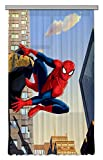 AG Design - Gardine – Vorhang – Fotogardine - Kinderzimmer Marvel Spider-Man - 140 x 245 cm – 1 Teil - FCSL 7129