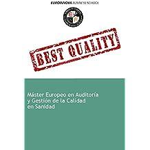 Libro de Máster Europeo en Auditoría y Gestión de la Calidad en Sanidad