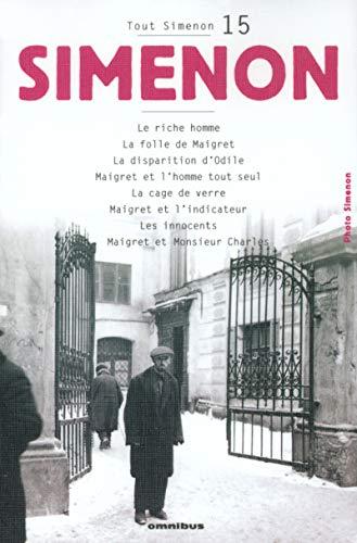 Tout Simenon, tome 15