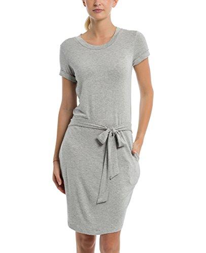 Bench Kleid im T-Shirt-Design Summer Grey Marl XS